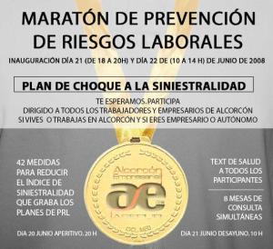 Flash del I Maratón de PRL en Alcorcón