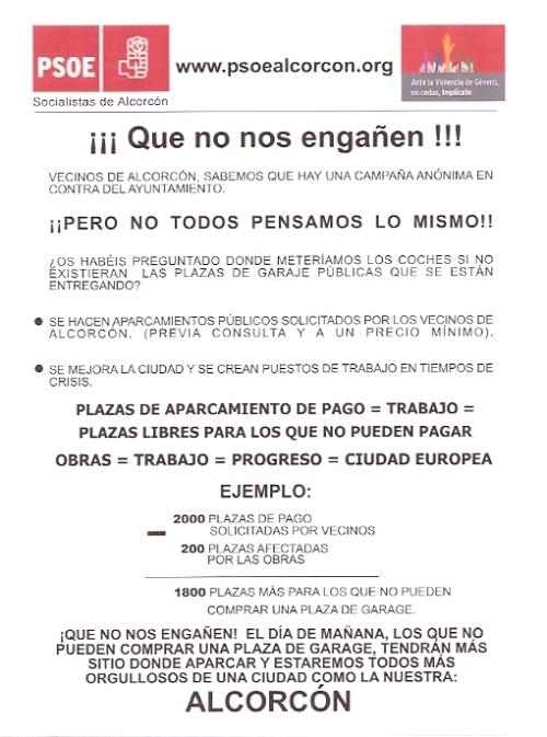 PSOE -Alcorcón